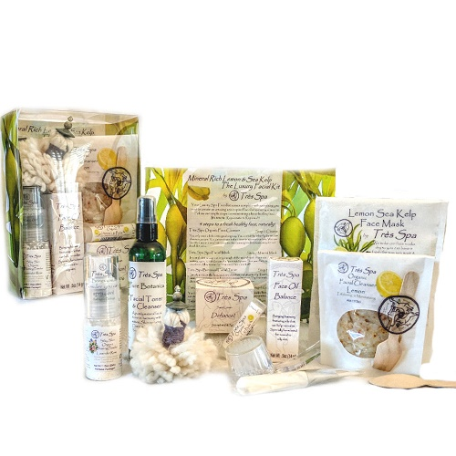 Tres Spa Luxury Spa Face Care Collection Lemon Sea Kelp