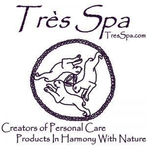 Très Spa logo and tag line