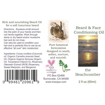 Tres Spa's Deep Conditioning Beachcomber Beard Oil