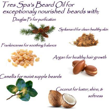 Tres Spa's Deep Conditioning Wild Woodsman Beard Oil