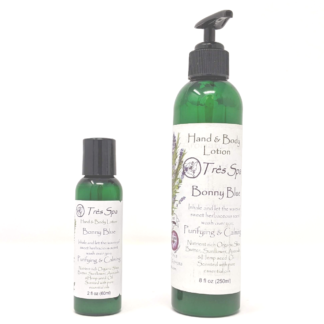 Bonny Blue Organic Hand & Body Lotion by Tres Spa