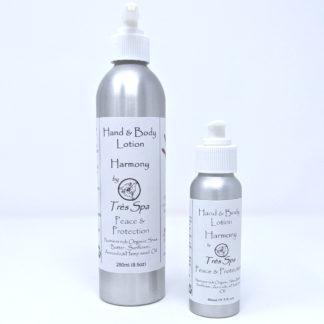 Organic Body Lotion by Tres Spa Harmony