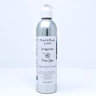 Organic Body Lotion by Tres Spa Invigorate