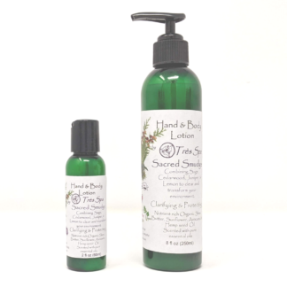 Sacred Smudge Organic Hand & Body Lotion by Tres Spa