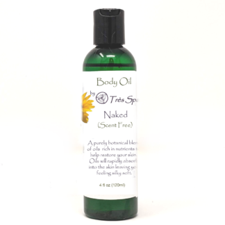 Naked Body Oil (Un-Scented) by Tres Spa