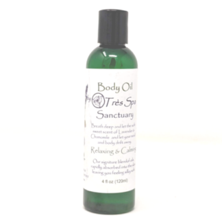 Sanctuary Body Oil by Tres Spa
