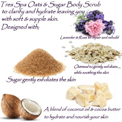 Tres Spa Oats & Sugar Body Scrub
