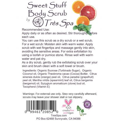 Tres Spa Sweet Stuff Body Scrub