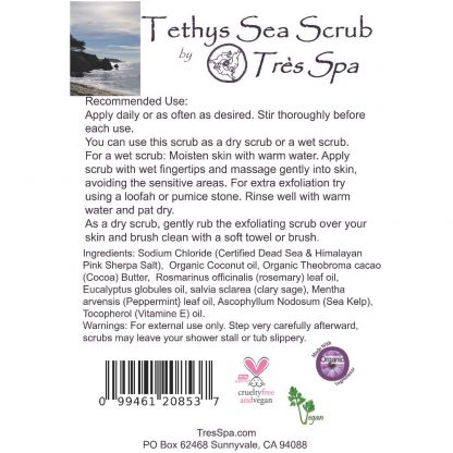Tres Spa Tethy's Sea Scrub Body Scrub
