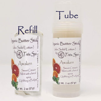 Organic Butter Sticks Awaken by Tres Spa