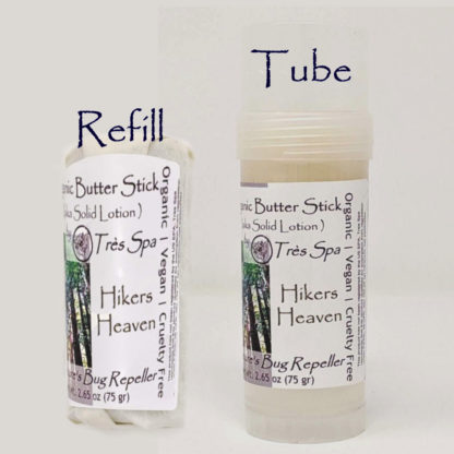 Organic Butter Sticks Hiker's Heaven by Tres Spa