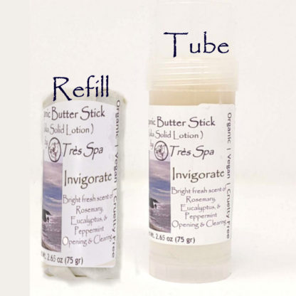 Organic Butter Sticks Invigorate by Tres Spa