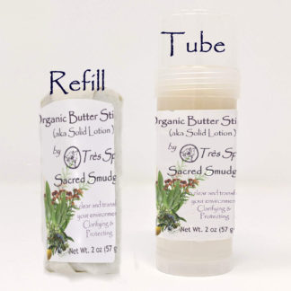 Organic Butter Sticks Sacred Smudge by Tres Spa