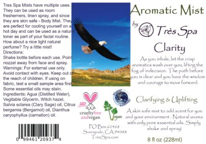 Aromatic Mist Clarity by Tres Spa