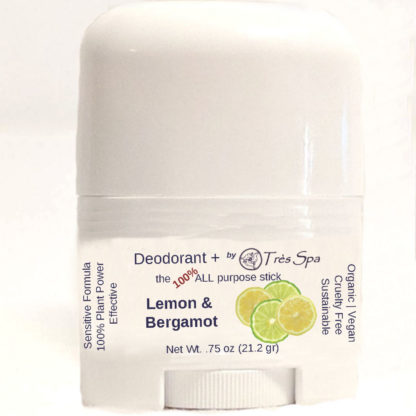 Organic Deodorant Lemon & Bergamot by Tres Spa