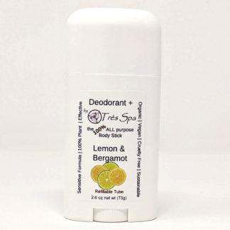 Organic Deodorant Lemon & Bergamot by Tres Spa