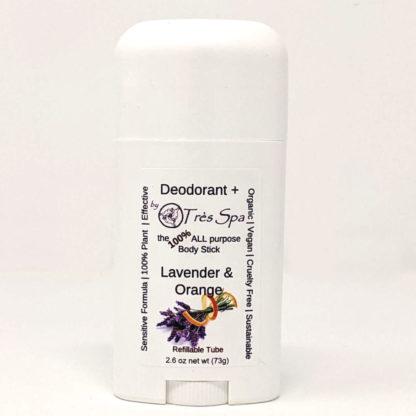 Organic Deodorant Lavender & Orange by Tres Spa
