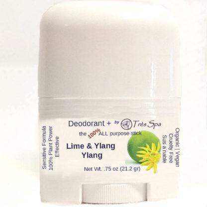 Organic Deodorant Lime & Ylang Ylang by Tres Spa