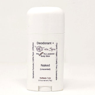 Organic Deodorant Naked (unscented) by Tres Spa