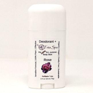 Organic Deodorant Rose by Tres Spa