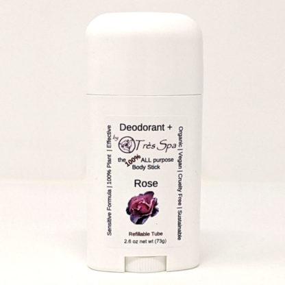 Organic Deodorant Rose by Tres Spa