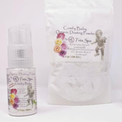 Organic Comfy Baby Dusting Powder by Tres Spa