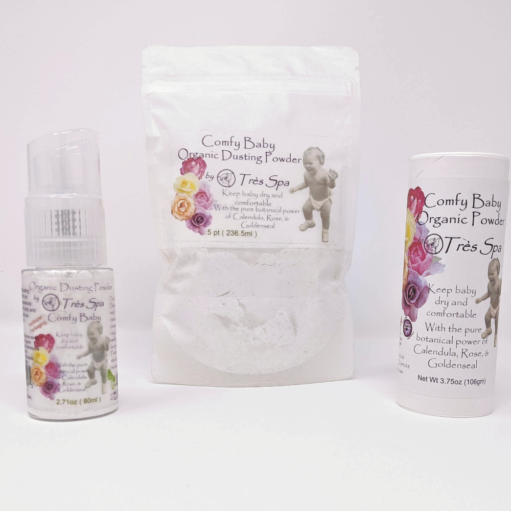Organic Comfy Baby Dusting Powder by Tres Spa
