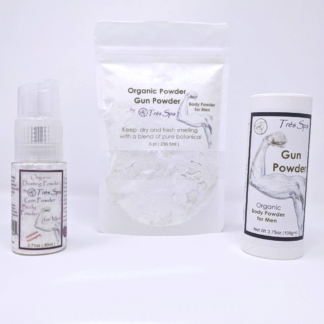 Gun Powder, Body Powder for Men by Tres Spa