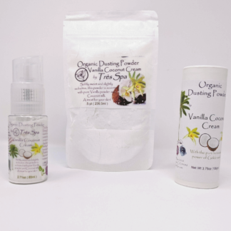 Vanilla Coconut Cream Dusting Powder by Tres Spa
