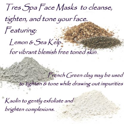 Tres Spa Face Mask Lemon Sea Kelp