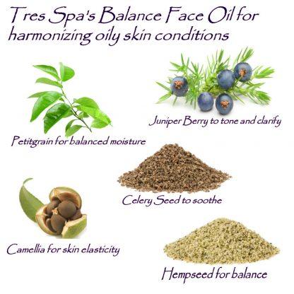 Tres Spa Balance Face Oil