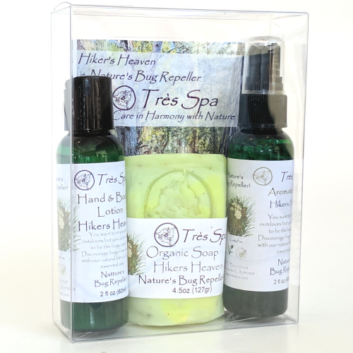 Tres Spa Petite Variety Trio Hiker's Heaven