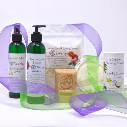 Gift Set Luxury Spa Body Collection Citrus