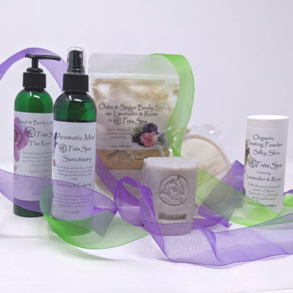 Gift Set Luxury Spa Body Collection Floral