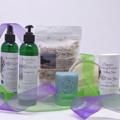Gift Set Luxury Spa Body Collection Herbal