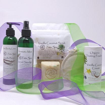 Gift Set Luxury Spa Body Collection Vanilla