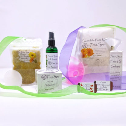 Gift Set Luxury Spa Facial Calendula