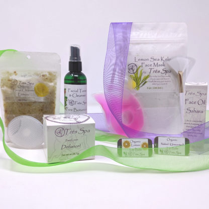 Gift Set Luxury Spa Facial Lemon