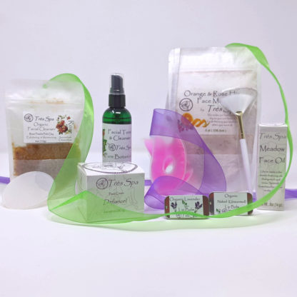 Gift Set Luxury Spa Facial Orange Rosehip