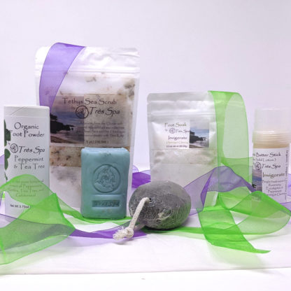 Gift Set Luxury Pedicure Collection Invigorate