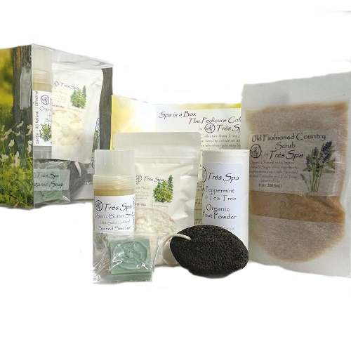 Tres Spa Luxury Spa Pedicure Collection Renew