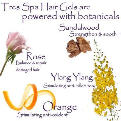 Tres Spa Citrus Sandalwood Hair Gel