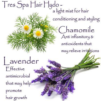 Tres Spa Hair Hydro Lavender Chamomile