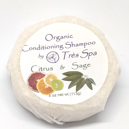 Très Spa Organic Conditioning Shampoo Citrus Sage