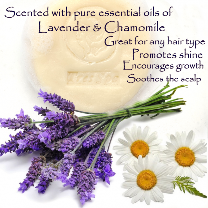Très Spa Organic Conditioning Shampoo Lavender Chamomile Benefits