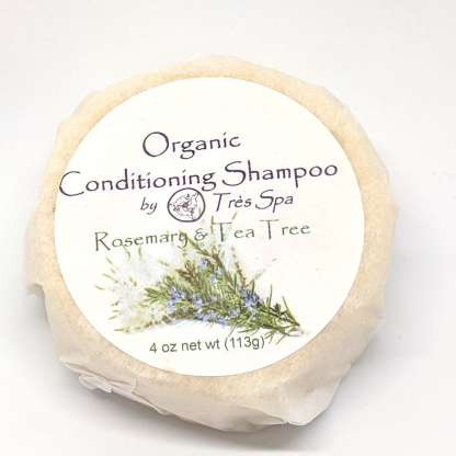 Très Spa Organic Conditioning Shampoo Rosemary Tea Tree & a kiss of Mint