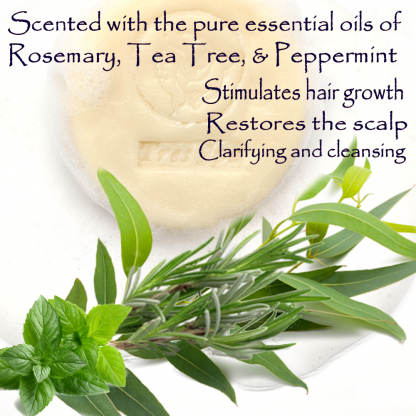 Très Spa Organic Conditioning Shampoo Rosemary Tea Tree & a kiss of Mint Benefit