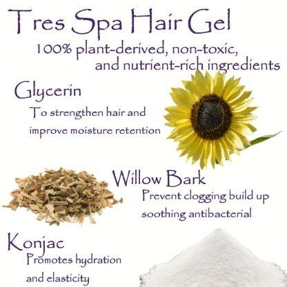 Tres Spa Hair Gel