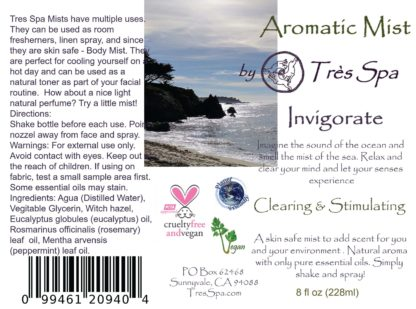 Aromatic Mist Invigorate by Tres Spa