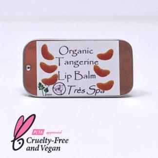 Organic Lip Balm Tangerine